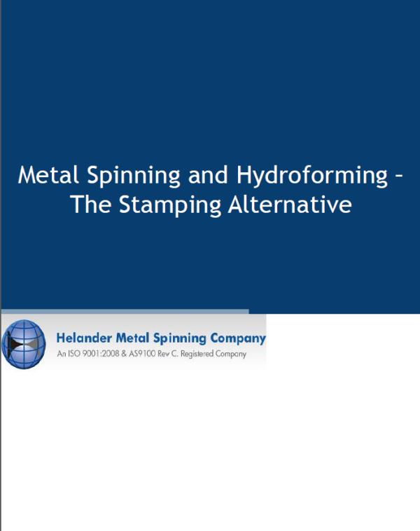 Metal Spinning & Hydroforming eBook