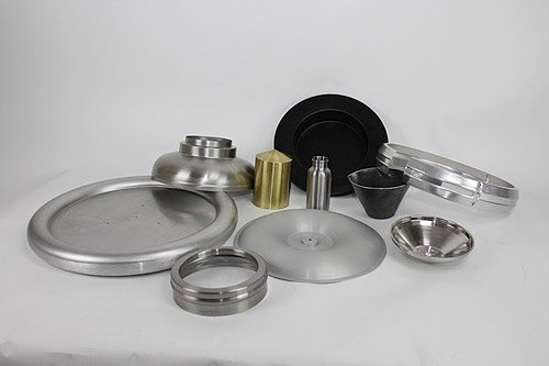Metal spun components